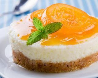 Petit cheesecake à l'abricot et Spéculoos®