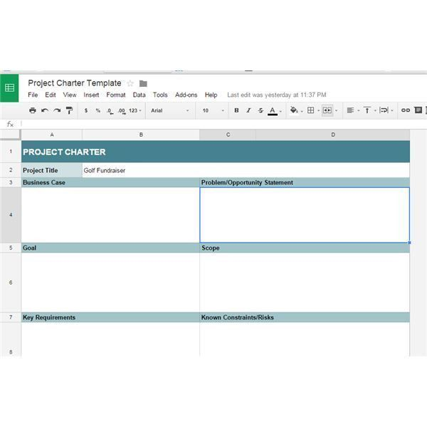 10 Great Google Docs Project Management Templates Employment - google spreadsheet templates free