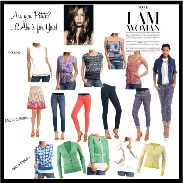 """""""top things our #petite client loves!""""  on Polyvore #cabi www.debragrauss.cabionline.com"""