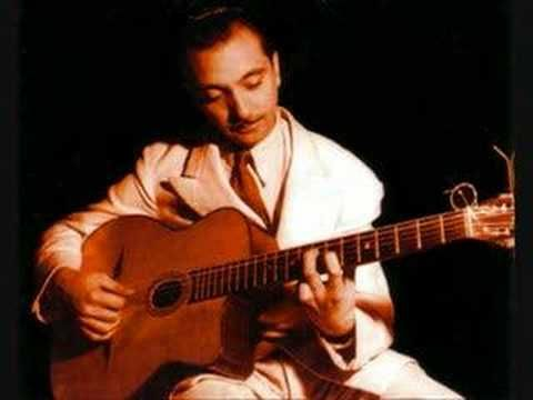 Gypsy Django Reinhardt jazz guitar genius  (Thanks, Dad for introducing his music to me!)