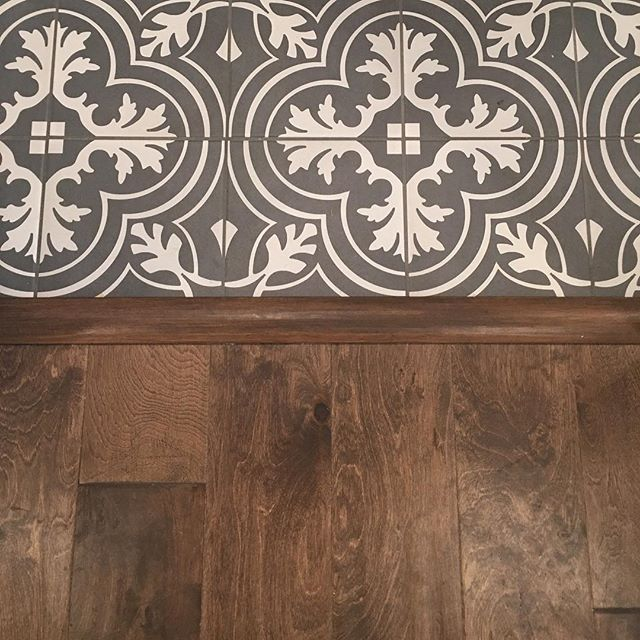Transition from wood to tile