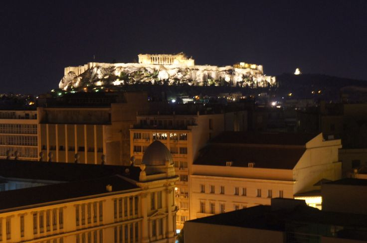 Acropolis view frm roof top