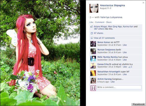 Anime Characters Real Life : Photos ukrainian girl turns herself into real life anime