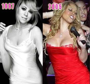 Did mariah carey get boob implants share this