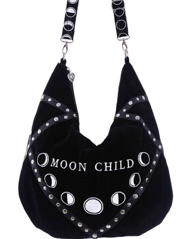 Restyle | Moon Child Hobo Bag - Tragic Beautiful buy online from Australia
