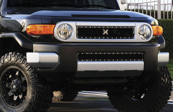 2007 - 2013 Toyota FJ Cruiser - X-Metal Series Bumper Grille - Black [6729321] - $275.00 : Pure FJ Cruiser Accessories, Parts and Accessories for your Toyota FJ Cruiser