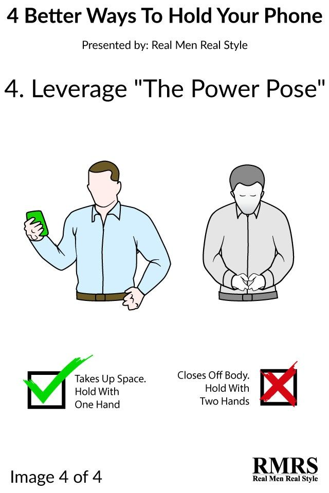 how to hold your phone when taking a video