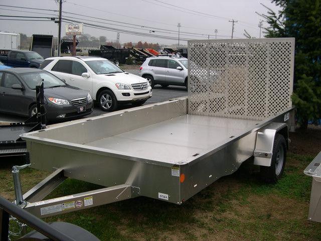 CarMate 6 x 12 Landscape Utility Trailer - Aluminum Utility Trailer!