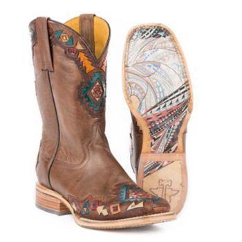 Tin Haul Ladies Sunka Wakan Native Horse Boot 10: KARMAN INC #Horse #Horses #Pets #Equestrian #Rider