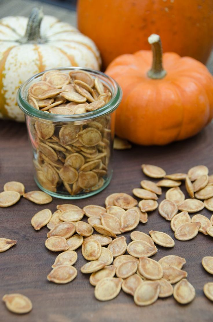 airfried toasted pumpkin seeds using the air fryer more