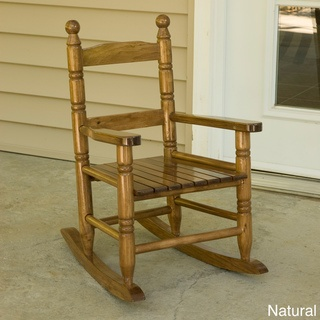 size rocker. Made of kiln-dried hardwood, this adorable rocking chair ...