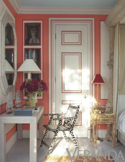 painted interior doors ideas | interior door decorating ideas, interior paint colors and decoration ...