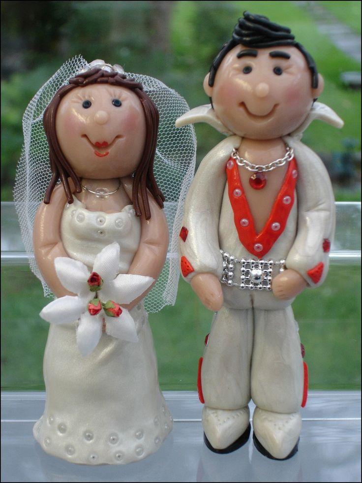 Elvis Wedding Cake topper