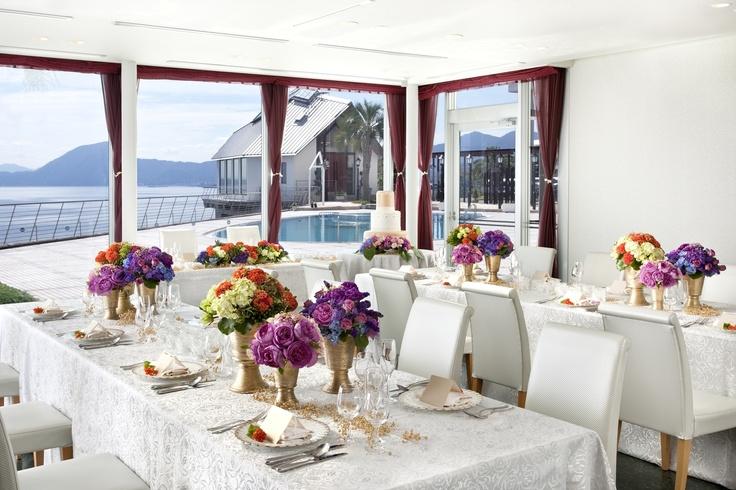 海辺の美食レストラン