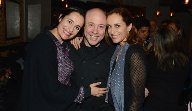 Dora Glottman, Jorge Rausch y Raquel Glottman