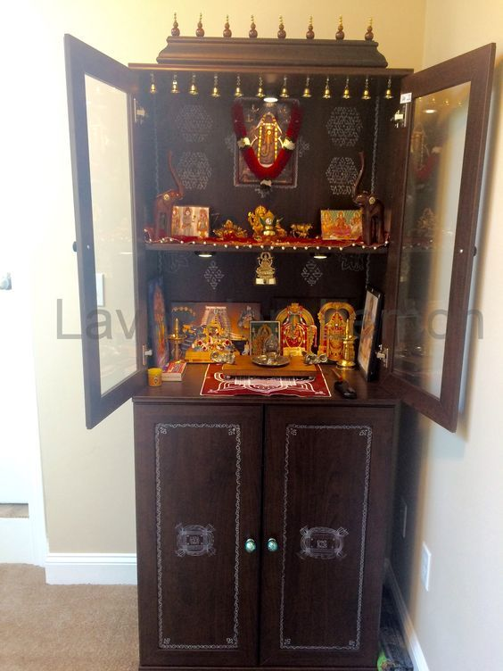 Ikea Shelf Home Mandir Pooja Room Door Design Room