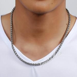 Kalung Rantai Pria Macho Titanium Stainless steel import (ARMANI MEN ACC)