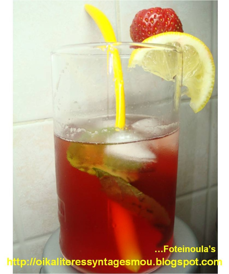 Sweet strawberry refreshment