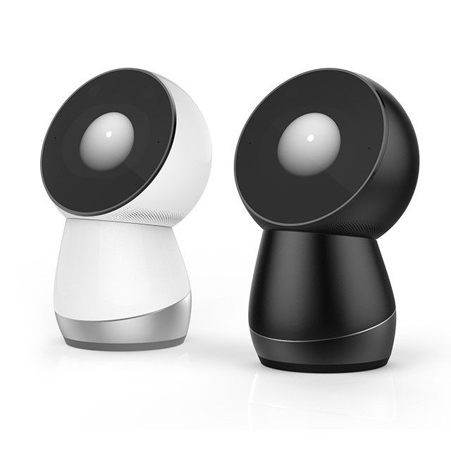 JIBO A Friendly Robotic Personal Assistant for the Home-JIBO is a robotic personal assistant for the home designed to offer reminders, photograph moments, make video calls, and generally keep members of the family company. The robot, which was crowdfunded via Indiegogo, features facial recognition to identify individuals, so it can offer up personalized messages to each member of the family.