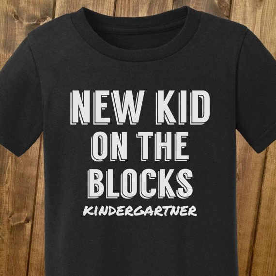 New kid,back to school shirts, back to school shirts for boys, kindergarten shirts, first day of school, trendy boy clothes,1st grade