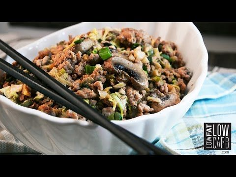 Egg Roll in a Bowl - Low Fat Low Carb