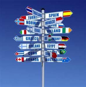 travel around the world centerpieces - Bing images