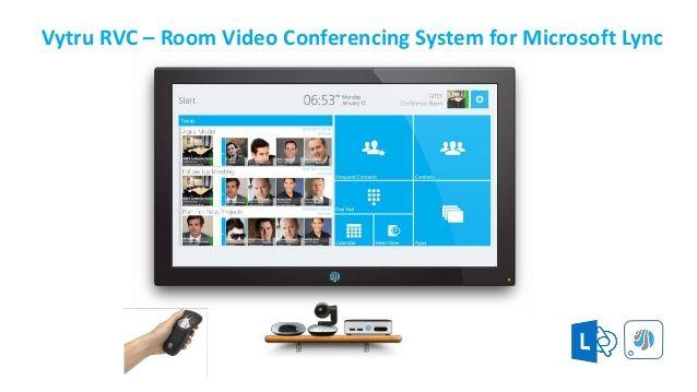 RVC Vytru RVC – Room Video Conferencing System for Microsoft Lync