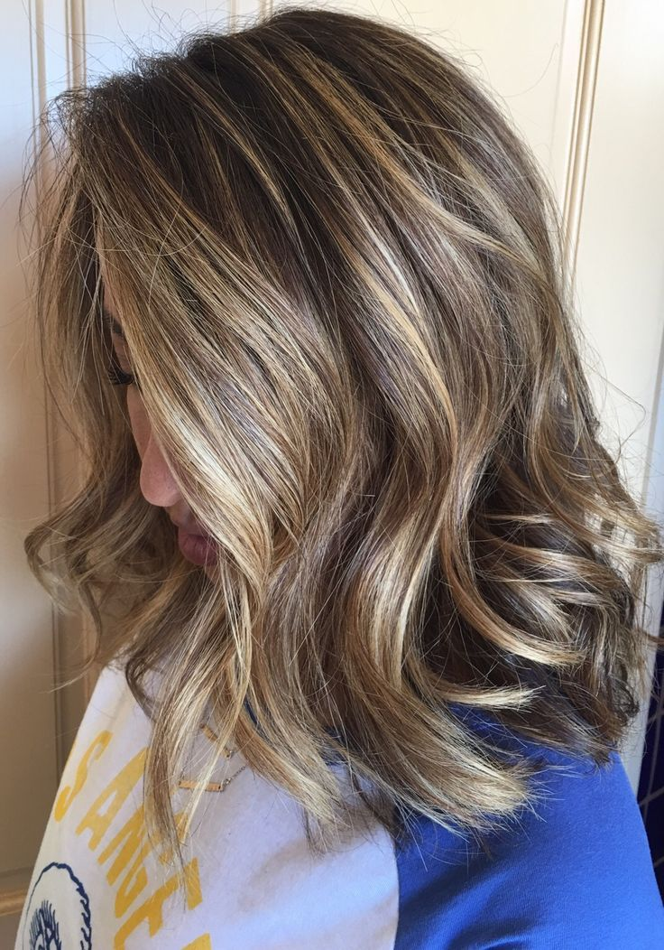 Pin By Sarah Domby On Hair Brown Hair With Blonde