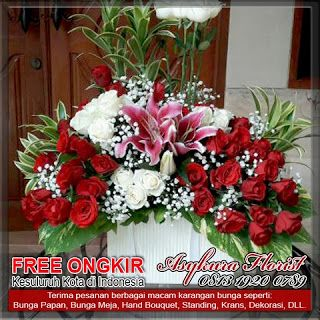 Toko bunga bekasi asykura florist menjual berbagai macam rangkaian karangan bunga segar 24 jam nonstop 081319200789 www.tokobungabekasikota.com