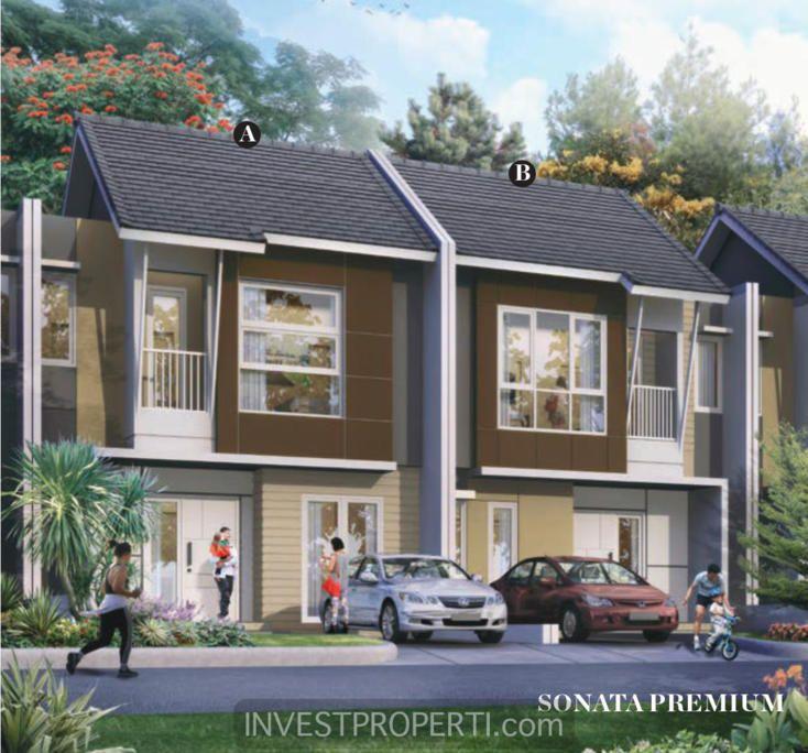 Rumah Cluster Avani Homes Summarecon Emerald Karawang tipe Sonata. #avanihomes #summareconkarawang #avanihomes