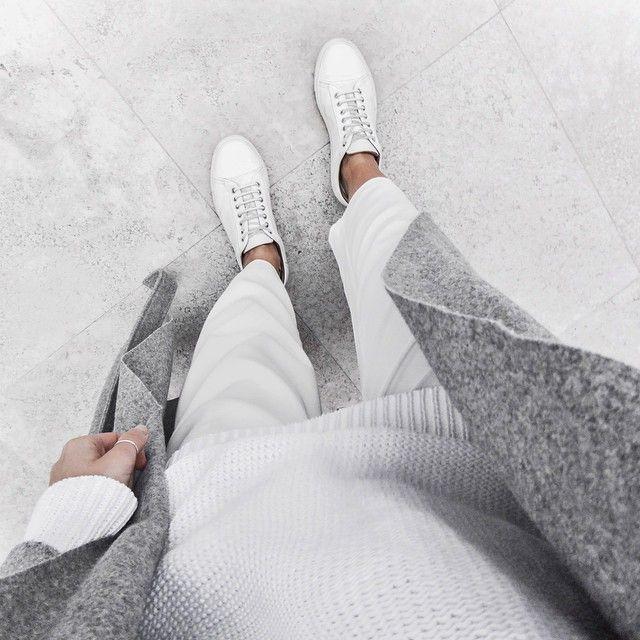 white and grey vibes | outfit inspiration by @the_5th