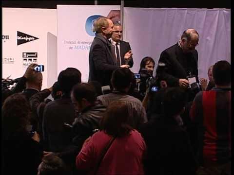 Emocionante clausura Madrid Fusión 2012
