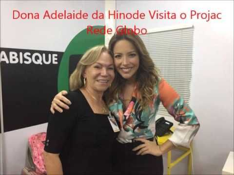 Dona Adelaide da Hinode Na Rede Globo