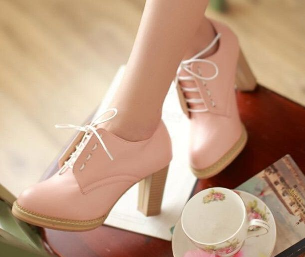 "Cute students heels Cute Kawaii Harajuku Fashion Clothing & Accessories Website. Sponsorship Review & Affiliate Program opening!so fashionable cute and hot do you think so, use this coupon code ""Fanniehuang"" to get all 10% off"