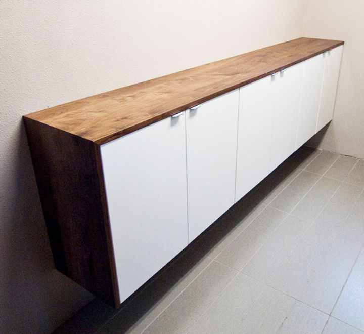 smart storage solution for small spaces the fauxdenza ikea kitchen cabinets for sideboard behind couch