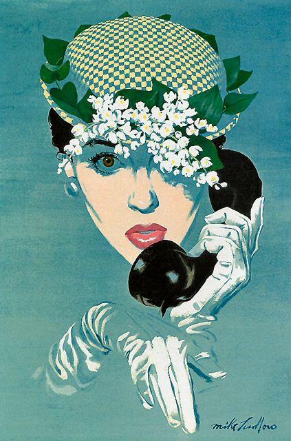 Mike Ludlow #MikeLudlow #vintageillustration #illustration