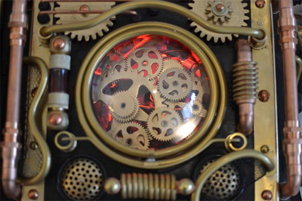 Obvious Winner - ow - Incredible Steampunk Bioshock Infinite PC Computer Case Mod