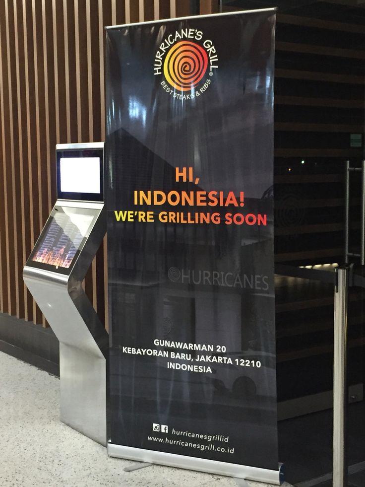 Hurricane Australia goes to Indonesia