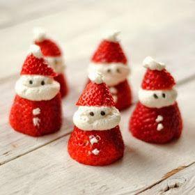 La cocina de Gisele: 25 super ideas para decorar la comida en Navidad