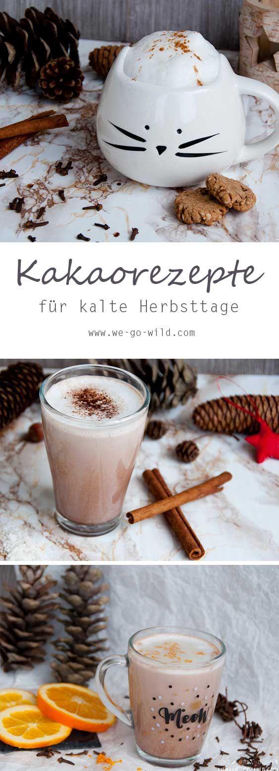 Heiße Schokolade Rezept gefällig? Wir haben einen leckeren Kakao mit Orangen gemacht, außerdem Kokosmilch Rezepte (vegan) und sogar Erdnussbutter Rezepte. Richtig lecker und perfekt als Winter Getränke.  #Kakao #Schokolade
