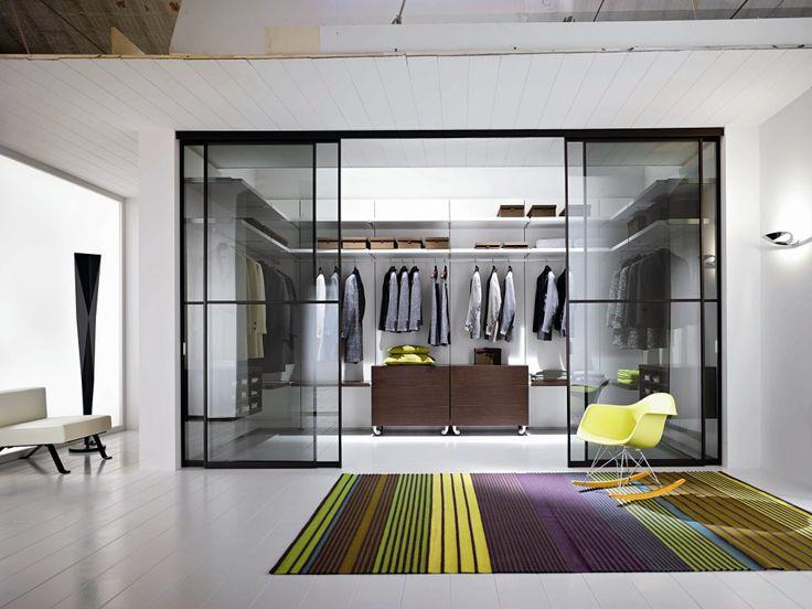 elegant schlafzimmer design ideen mit begehbarem