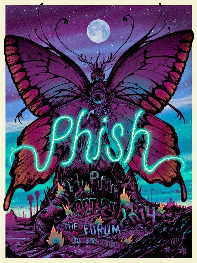 Jeff Soto Phish Inglewood Poster Artist Edition Release Details