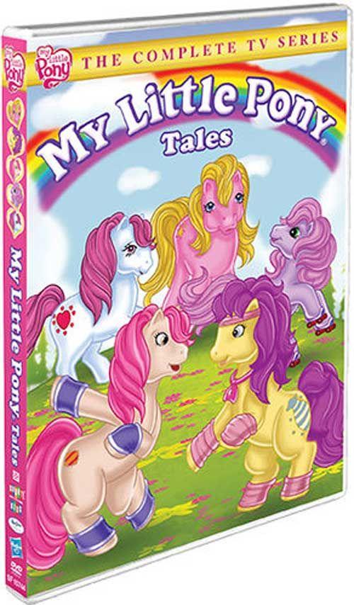 My Little Pony Tales - 'The Complete TV Series' is Scheduled for DVD by Shout!  Suomi teksteillä jos löytys viä niin jes! :D