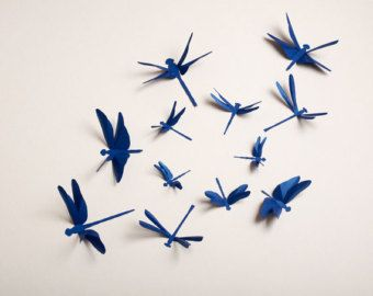 paper dragonflies - Google Search