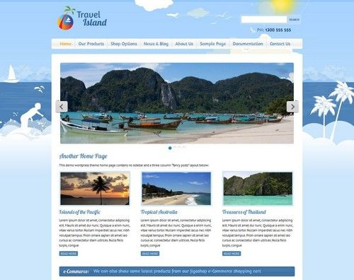 The 22 best 20+ Beautiful WordPress Travel Themes for Travel Agency - wordpress travel themes