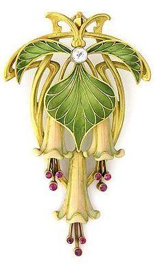 Art Nouveau Jewelry 1895-1910