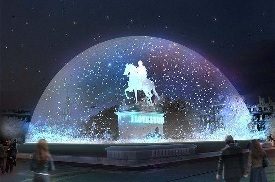 La Fête des lumières : Lyon ( France)    Du 08 au 11 Décembre, la ville de Lyon en France s'illumine pour la célébration de la fête des lumières.    Origines et Significations