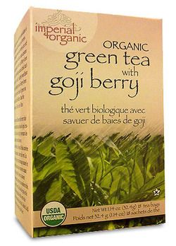 Uncle Lee's Imperial Organic Green Tea With Goji Berry $6.29 - from Well.ca