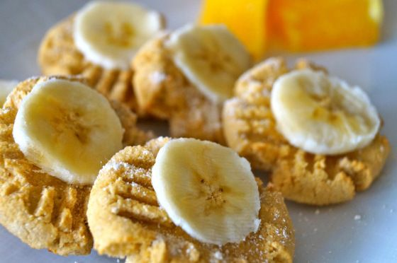#paleo Tahini Orange Cookies
