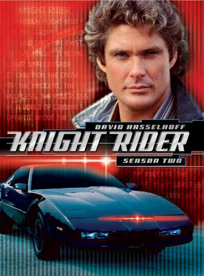 Ooooh, David Hasslehoff back in the day. I wanted a Knight Industries Two Thousand (KITT) car!